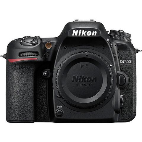Цифровой зеркальный фотоаппарат Nikon D7500 Body