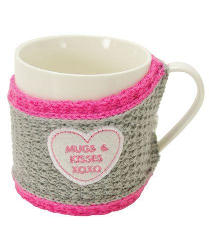 Кружка в свитере Boston Warehouse Sweater mug Mugs & Kisses