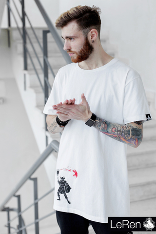 Футболка LeRen Long White Viking