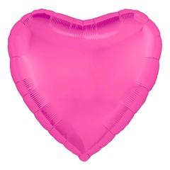 Ar (30''/76 см) Сердце, Розовый пион, в упаковке 1 шт