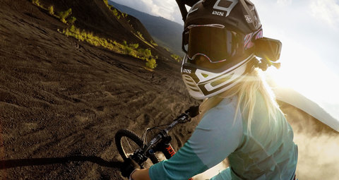 Helmet Front and Side Mount - Набор креплений на шлем