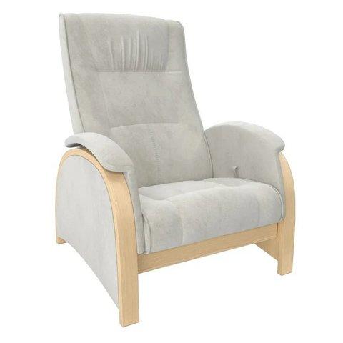 Кресло-глайдер Balance Balance-2 натуральное дерево/Verona Light Grey, 014.002