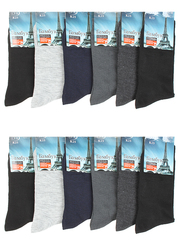 K25 носки мужские 42-48 (12шт.) цветные
