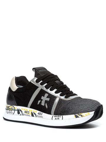 Комбинированные кроссовки Premiata Conny 4102 на шнуровке