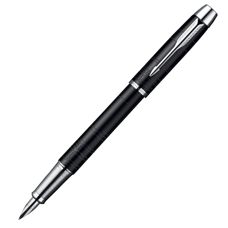 Parker IM Premium - Matt Black CT, перьевая ручка, F