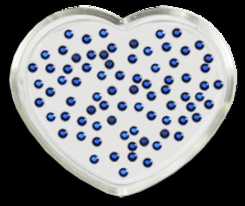 ЭК Стразы акриловые 200шт/ 4   SS4-синий, круглый