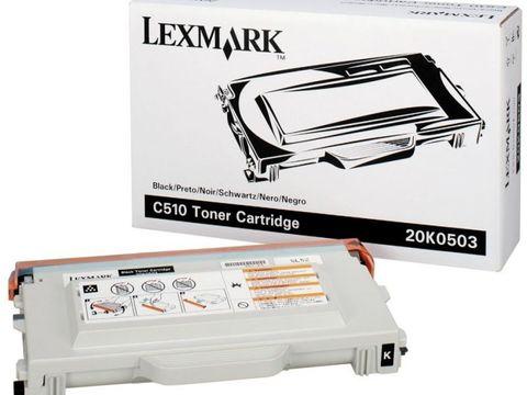 Тонер-картридж для принтеров Lexmark C510 черный (black). Ресурс 5000 стр (20K0503)