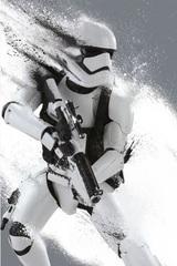 Постер Арт Звёздные войны Пробуждение Силы Штурмовик