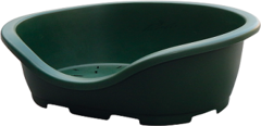 Лежанка для собак и кошек Marchioro PERLA 4, 74х52х27 см зеленый