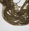 Цепь (цвет - античная бронза) 1,8х1,3 мм, примерно 10 м