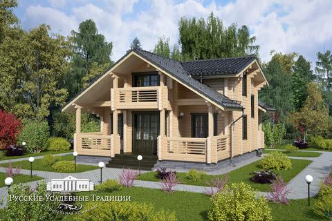 """Проект двухэтажного дома """"Ротари"""" 146 кв.м."""