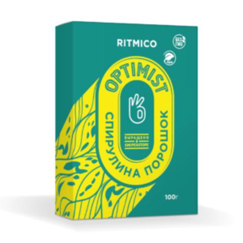 Спирулина органическая в порошке, 100 гр. Ritmico