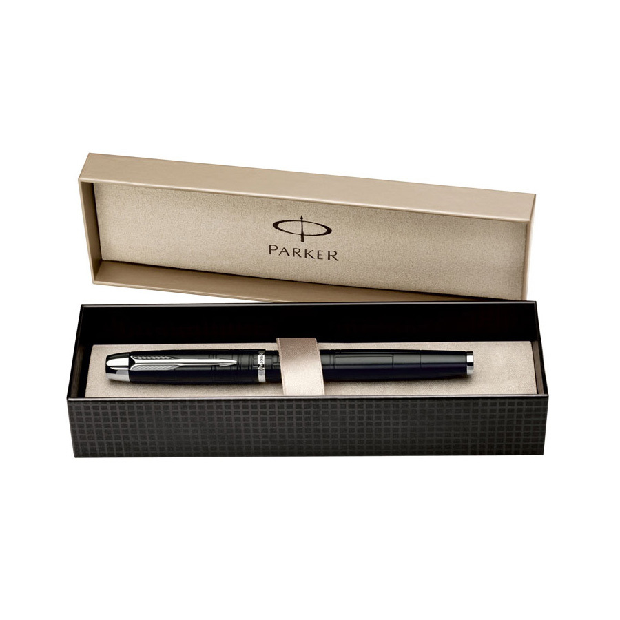Parker IM Premium - Matt Black CT, перьевая ручка, F*