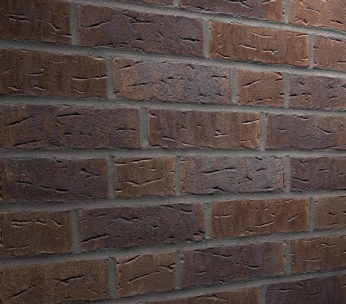 Плитка-клинкер под кирпич Feldhaus Klinker, Sintra, ручная формовка, geo nelino, R669NF14