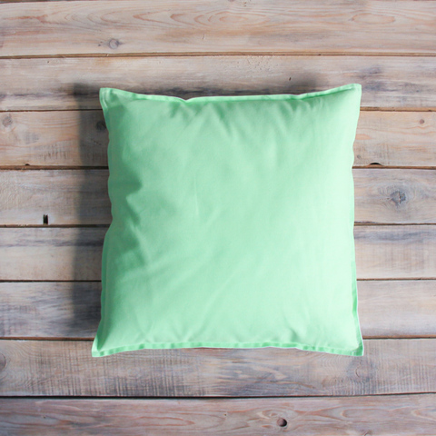 Подушка Mint мятная зеленая