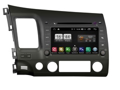 Штатная магнитола FarCar s170 для Honda Civic 07-12 на Android (L044)