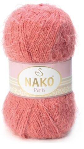 Пряжа Nako Paris 11272 темная роза