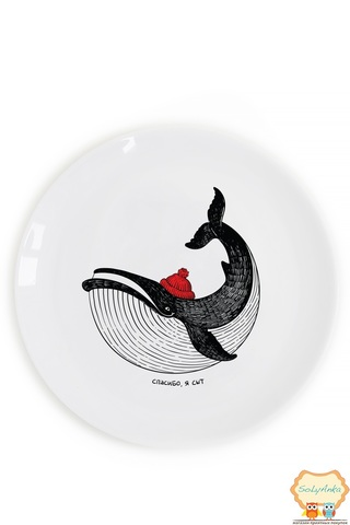 Тарелка «Сытый кит»