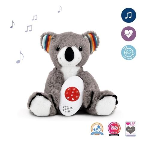 Музыкальная мягкая игрушка-комфортер Коко 1+