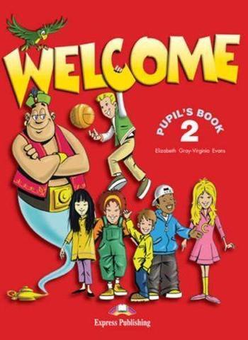 Welcome 2. Pupil's Book.  Учебник
