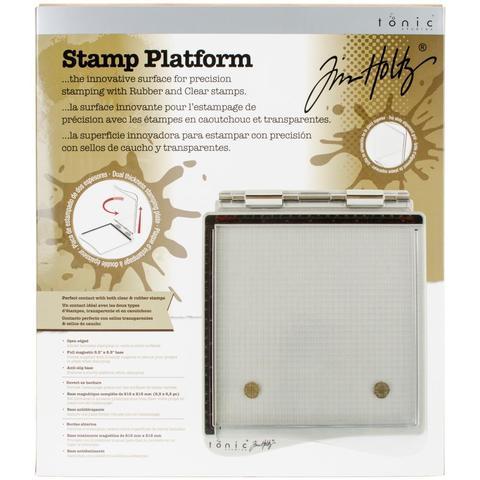 Инструмент для штампинга Tim Holtz Stamp Platform
