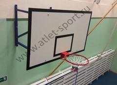 Щит баскетбольный игровой фанерный 18 мм, 1800х1050мм