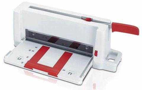 Резак для бумаги Ideal 3005 - ультра компактная портативная гильотина для работы в небольших офисах.