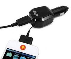 Зарядное устройство USB+apple DOCK KD-504