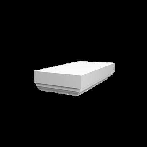 Полукрышка Европласт из полиуретана 4.73.211, интернет магазин Волео