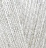Пряжа Alize Angora Gold 208 светло-серый меланж