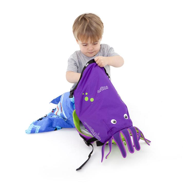 TRUNKI Рюкзак для бассейна и пляжа осьминог