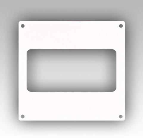 Накладка торцевая 204х60