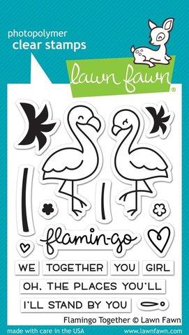 "Набор штампов ""flamingo together"""