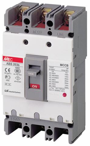 Автоматический выключатель ABN803c (45/37кА 380/415В) 3Р) 630A