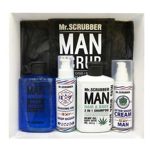 Beauty Box  Mr. Scrubber MAN
