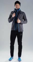 Элитный утеплённый лыжный костюм Nordski Elite G-TX Grey-Black мужской 2019