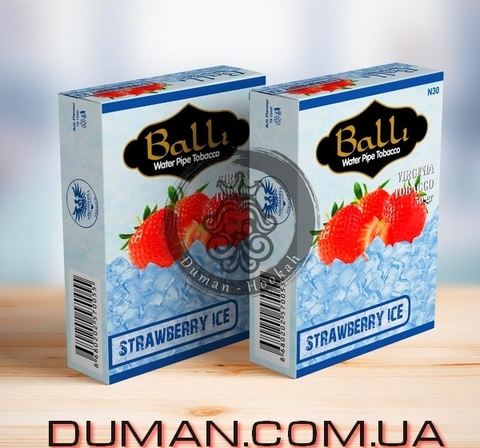 Табак Balli STRAWBERRY ICE (Балли Лед Клубника)