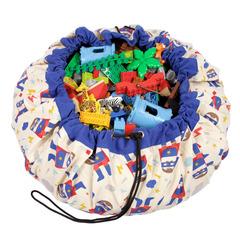 Мешок для игрушек Play&Go Designer СУПЕРГЕРОЙ 79969