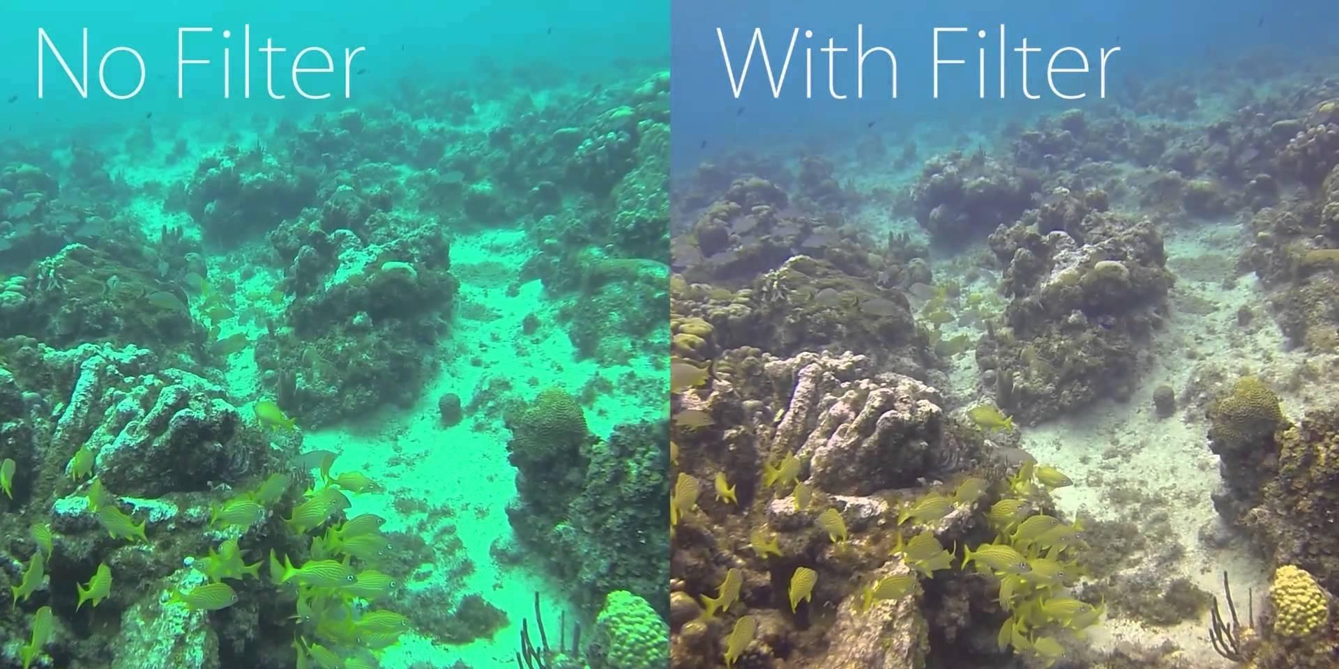 Красный фильтр PolarPro Red сравнение