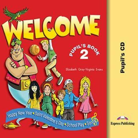 WELCOME 2 Student's CD (SONGS.PLAY)