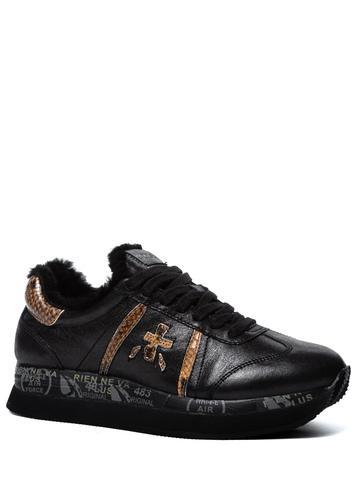 Кожаные кроссовки Premiata Conny 4273 на меху