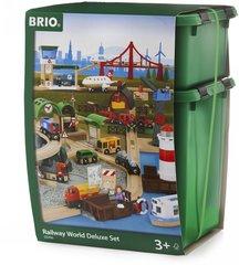 Двухуровневый набор деревянной железной дороги BRIO 33766