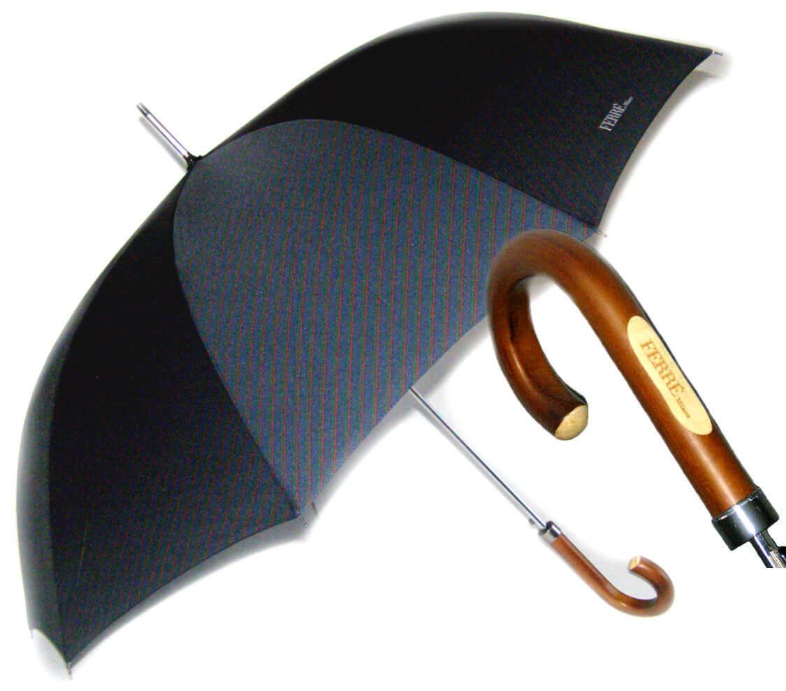 Зонт-трость Ferre GF -2008-Legno Marino