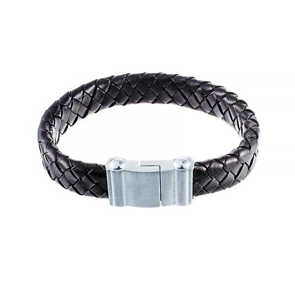 Кожаный браслет JV 232-0112