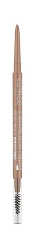 Карандаш для бровей Catrice Slim'Matic Ultra Precise Brow Pencil Waterproof, 020 Medium, Коричневый