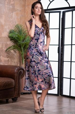 Длинная ночная сорочка Mia-Amore ETTRO 3508 (70% натуральный шел