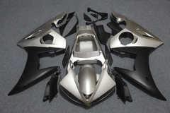 Комплект пластика для мотоцикла Yamaha YZF-R6 05 Черно-Серый