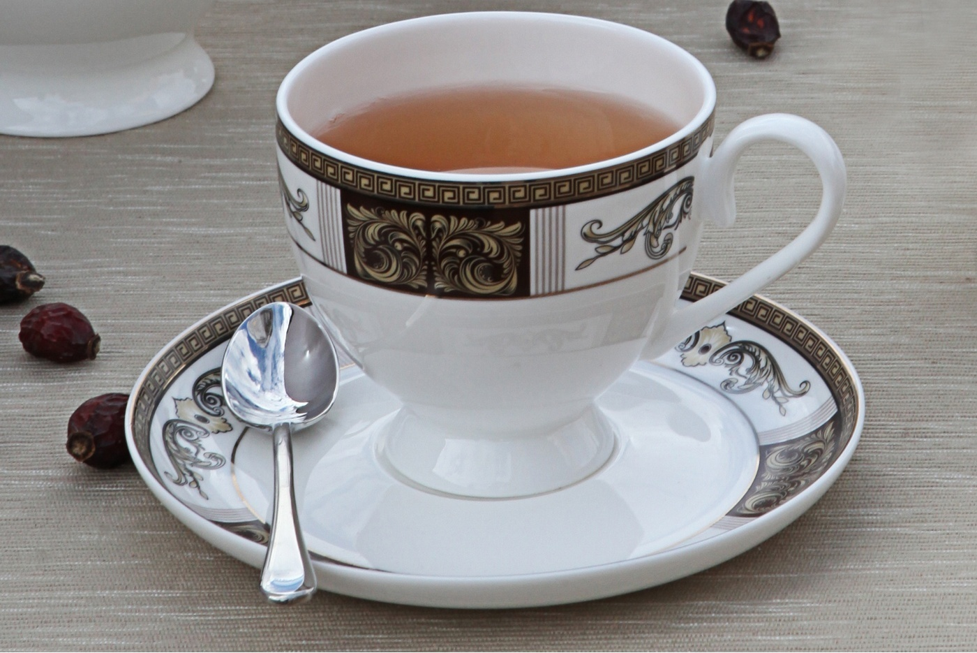 """Чайный сервиз Royal Aurel """"Антик"""" арт.112, 15 предметов"""