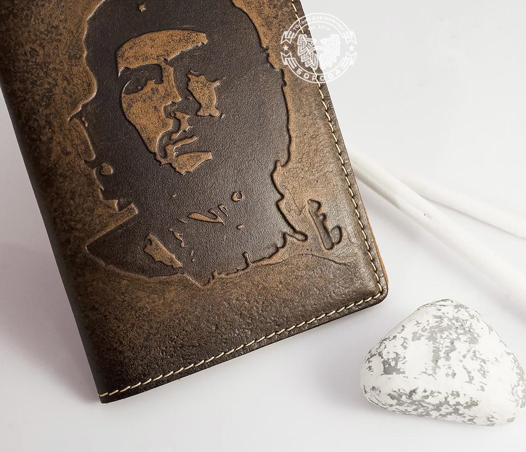 BY14-17-01 Обложка из натуральной кожи «Че Гевара» фото 03