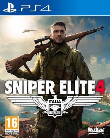 Sony PS4 Sniper Elite 4 (русская версия)